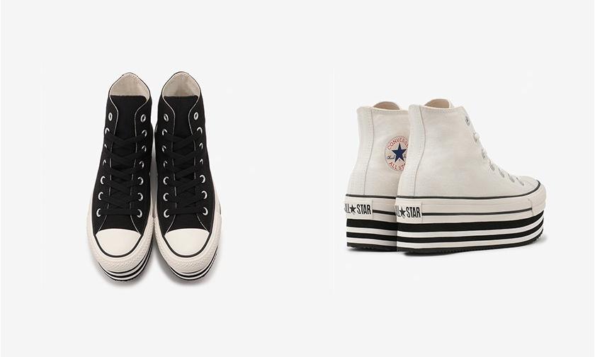 本月发售,CONVERSE 新季再推厚底帆布鞋款