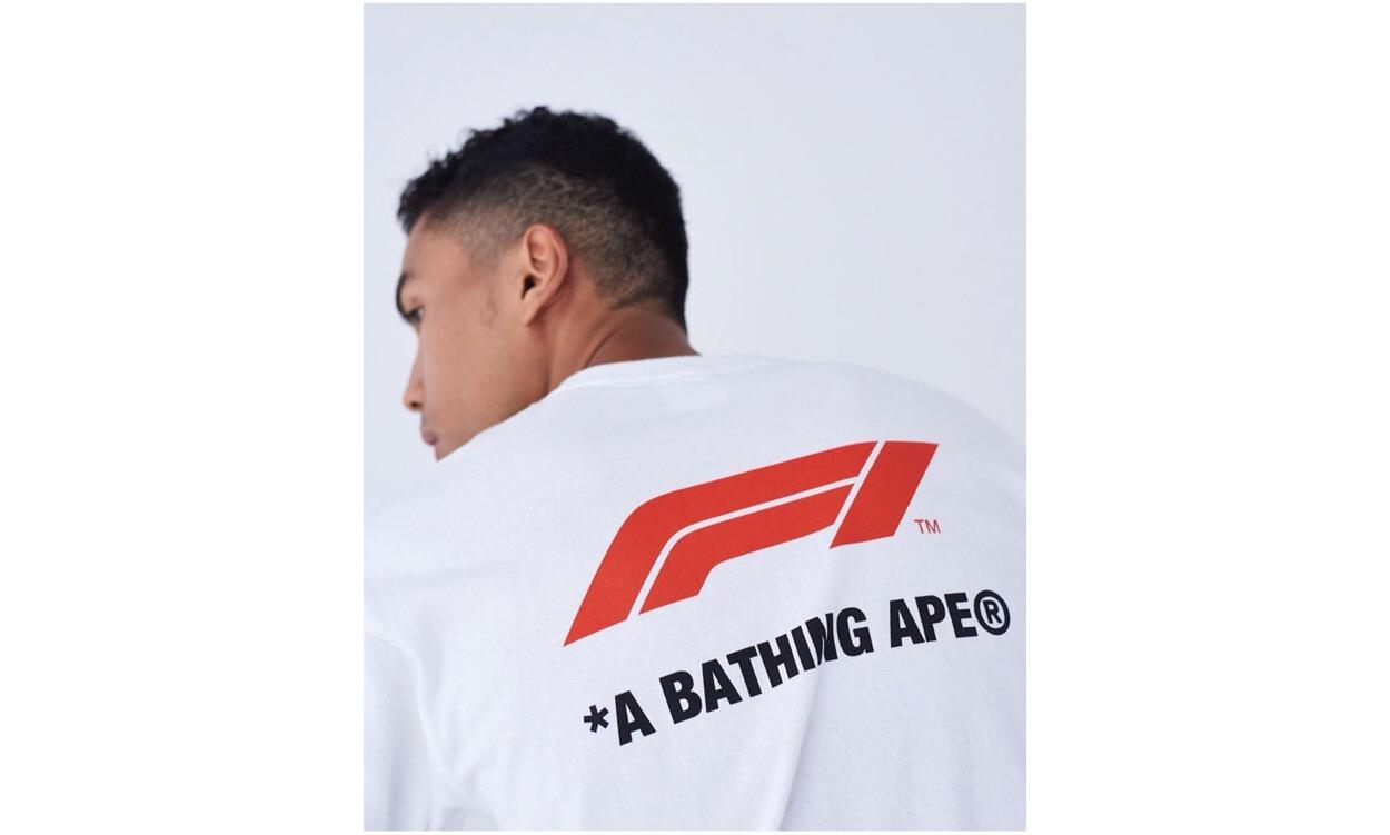 A BATHING APE® x Formula 1™ 全新联名系列单品抢先看
