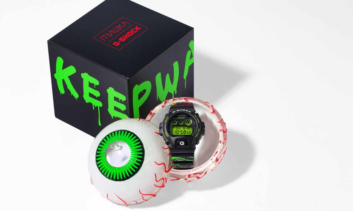 KEEP WATCH!G-SHOCK x MISHKA 合作款腕表公布