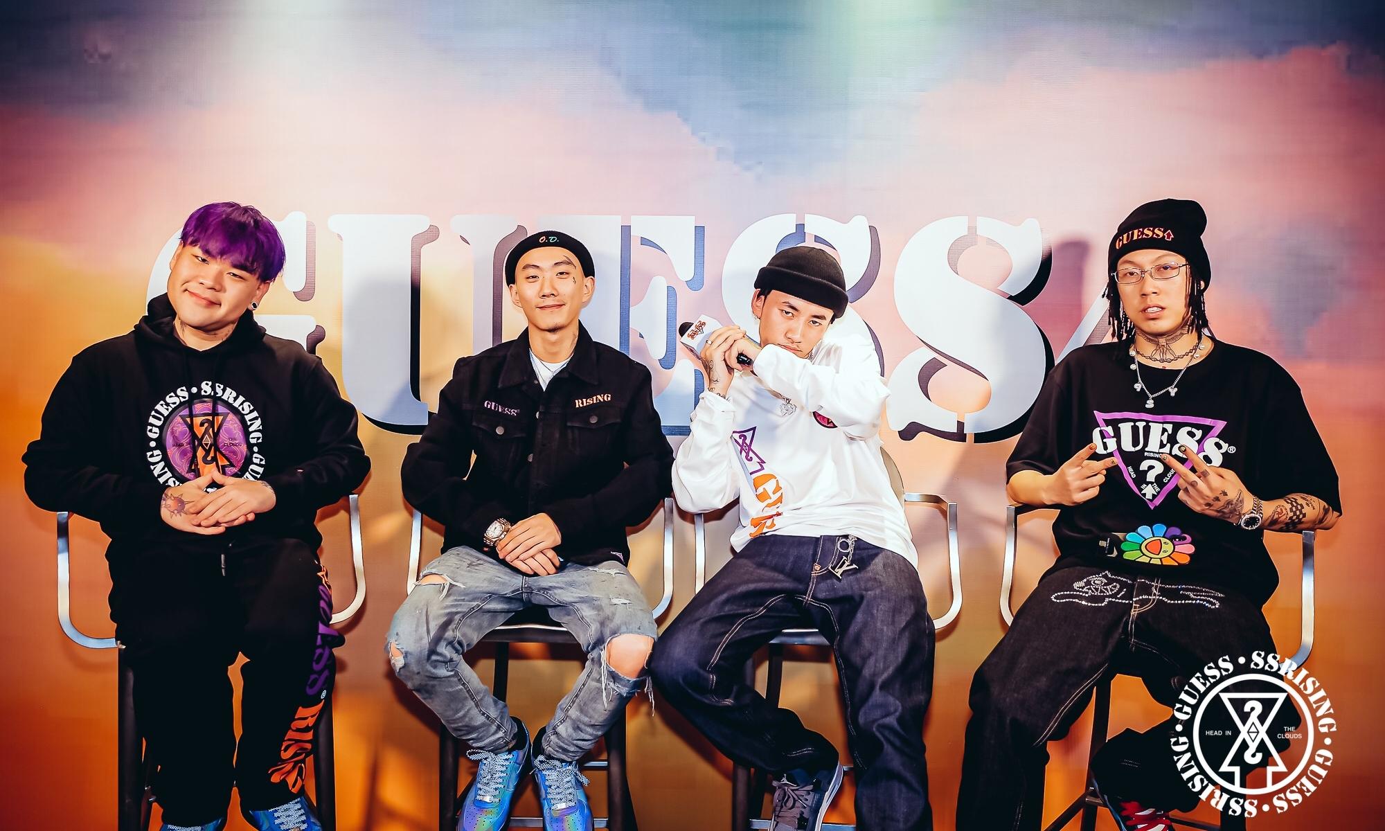 GUESS x 88RISING 胶囊系列新品媒体预览会于上海举办