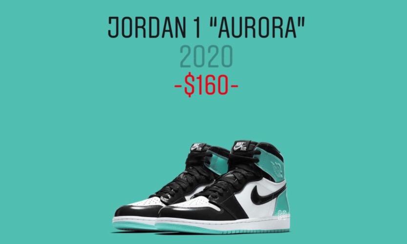 惊喜未完,Air Jordan I 全新配色「Aurora」漆皮版本首度曝光