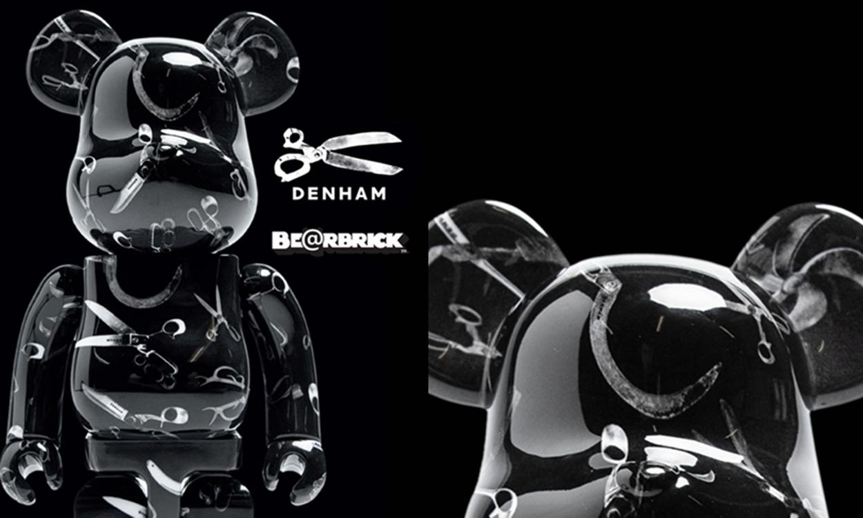 Denham x MEDICOM TOY 全新联名 BE@RBRICK 玩偶正式出炉