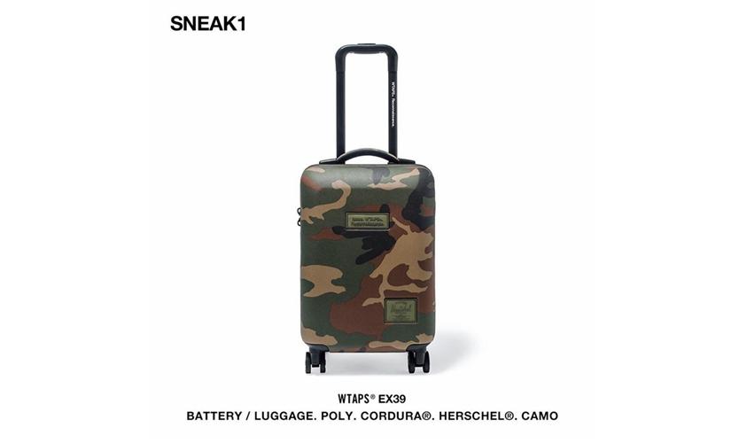 WTAPS × Herschel Supply 联名包袋系列正式发布