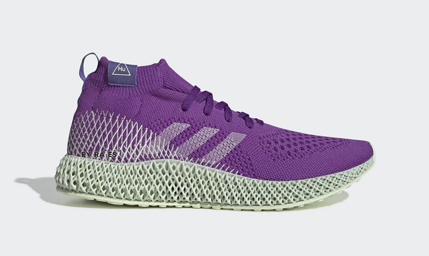 Pharrell Williams x adidas Originals 带来全新 4D 跑鞋设计