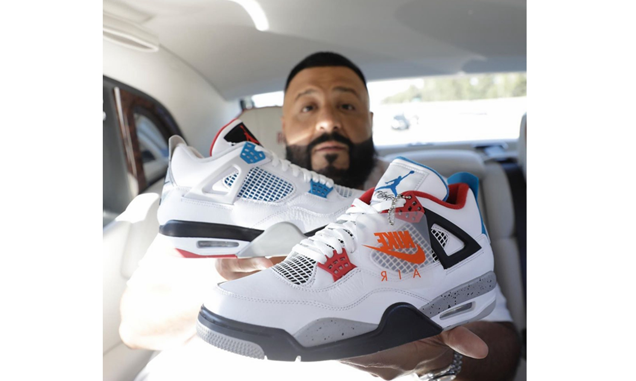 "定档 11 月,DJ Khaled 亲晒 Air Jordan IV ""What The"" 配色"