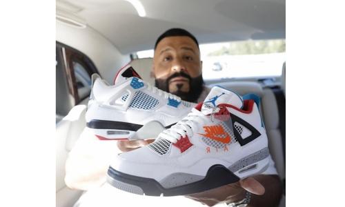 """定档 11 月,DJ Khaled 亲晒 Air Jordan IV """"What The"""" 配色"""