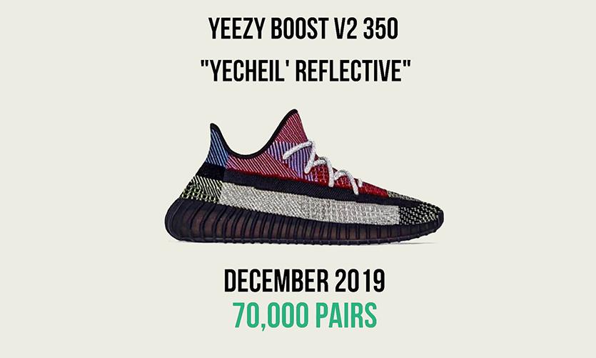 货量最大「满天星」?Yeezy Boost 350 V2「Yecheil」发售信息更新