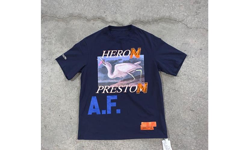 「假货」认证?Heron Preston 带来「Aurhoized Fakes」系列全新设计