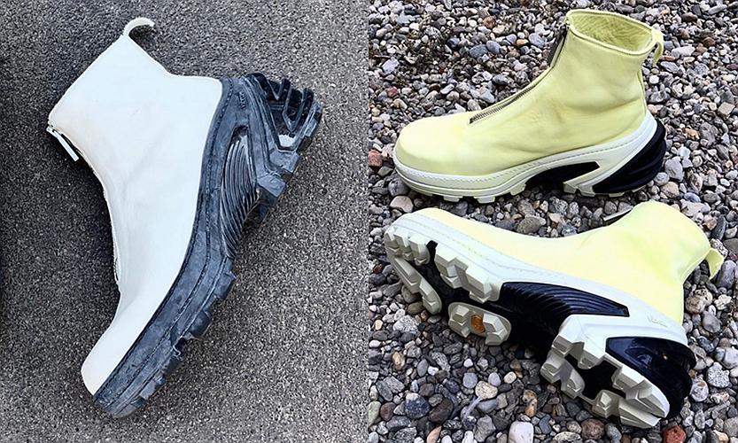 1017 ALYX 9SM x GUIDI 全新联乘鞋履即将登场