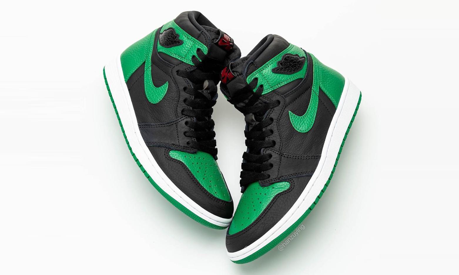 抢先预览 Air Jordan I「Pine Green」
