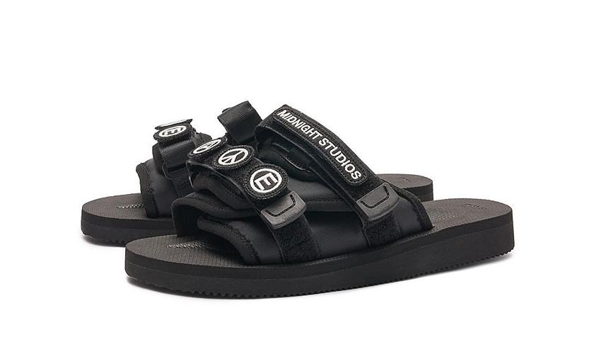 SUICOKE 携手 MIDNIGHT STUDIOS 带来全新鞋履设计