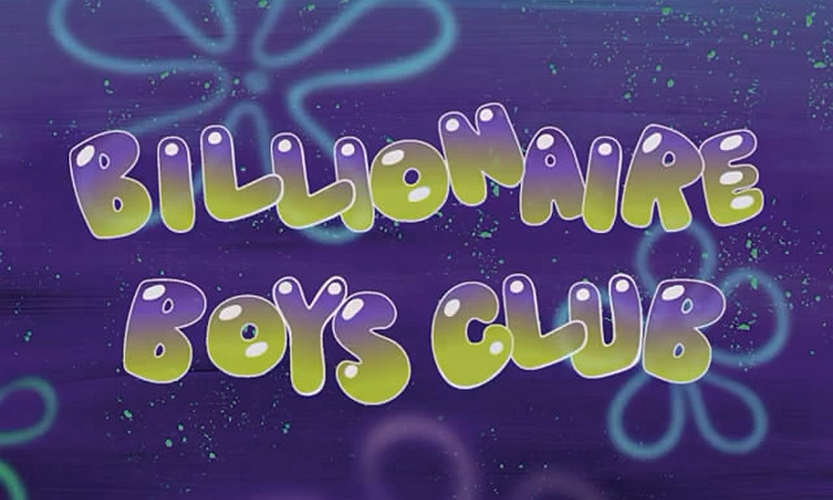 Billionaire Boys Club x《海绵宝宝》别注系列发布首支预告片