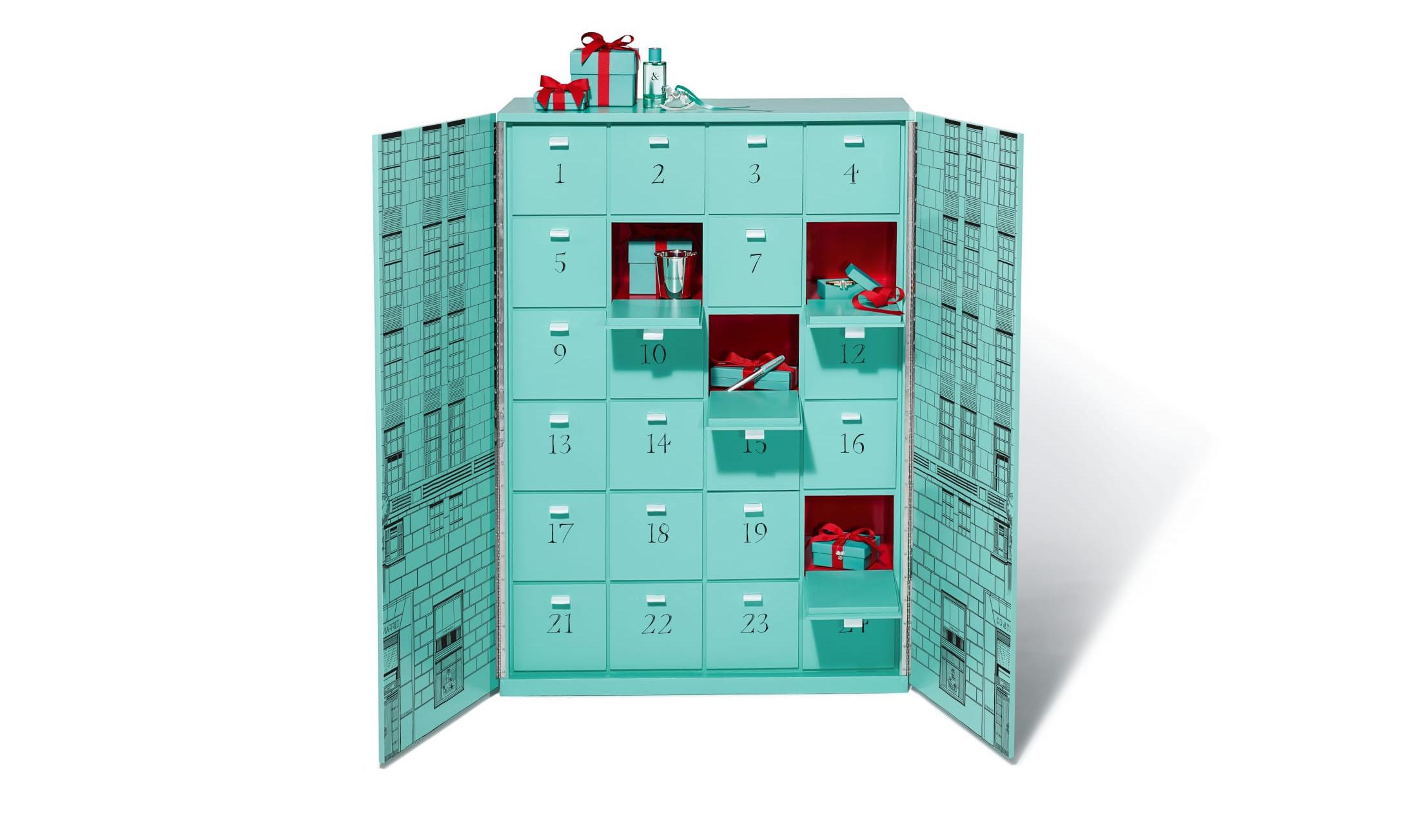 奢华梦幻,Tiffany & Co. 推出「圣诞倒计时」礼物套组