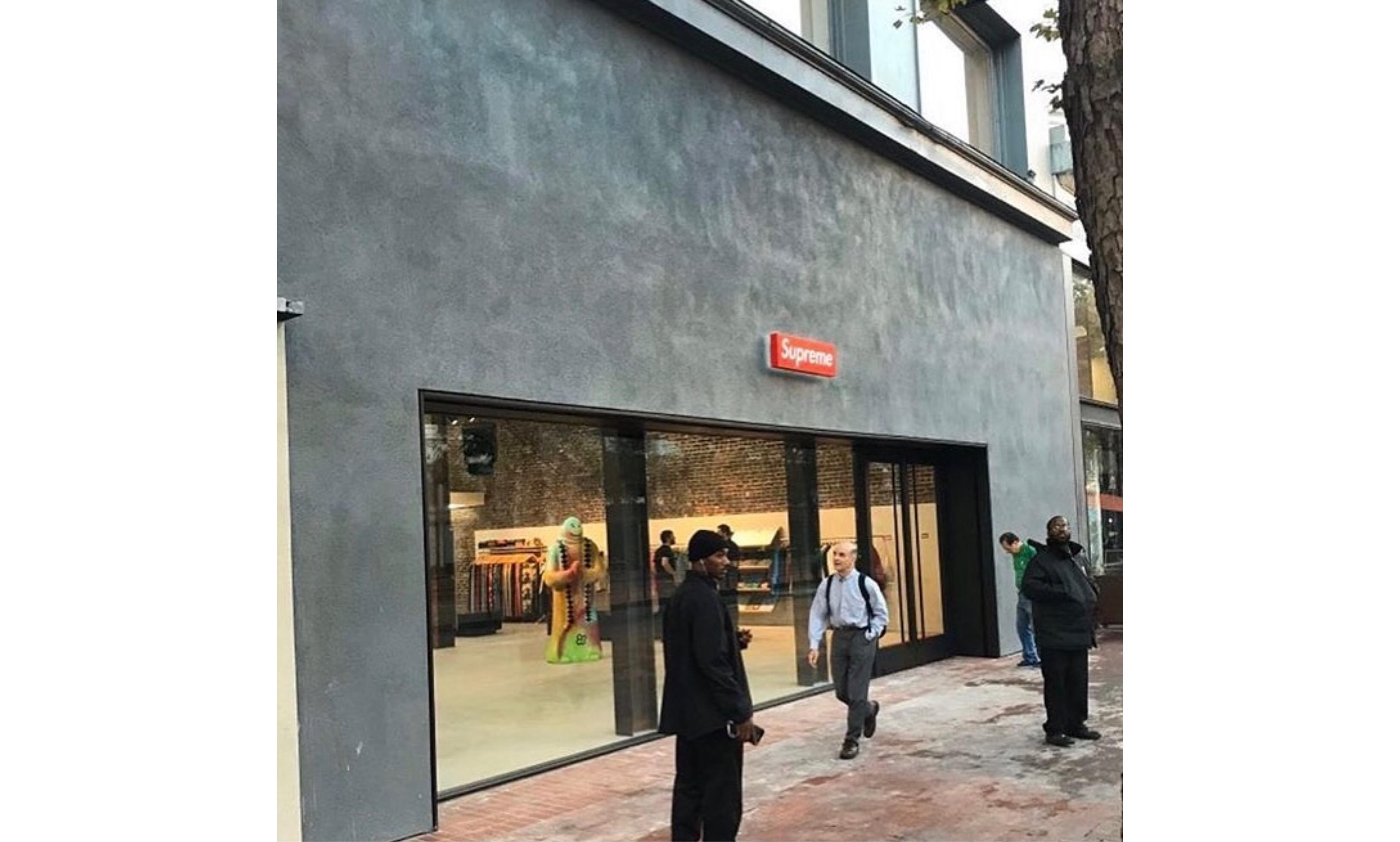 延续布鲁克林设计风格,Supreme 全新旧金山门店路透照曝光