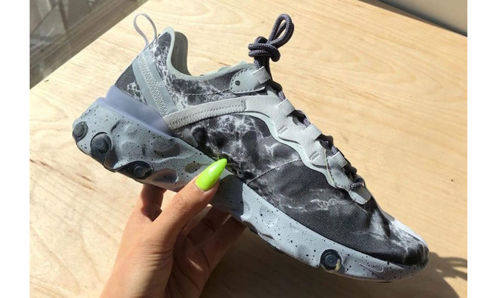 Kendrick Lamar x Nike React Element 55 实物细节图曝光