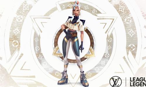 《英雄联盟》x Louis Vuitton 首款英雄皮肤公开