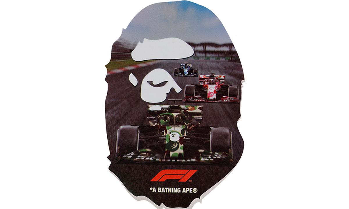A BATHING APE® x Formula 1® 全新联名限定系列释出