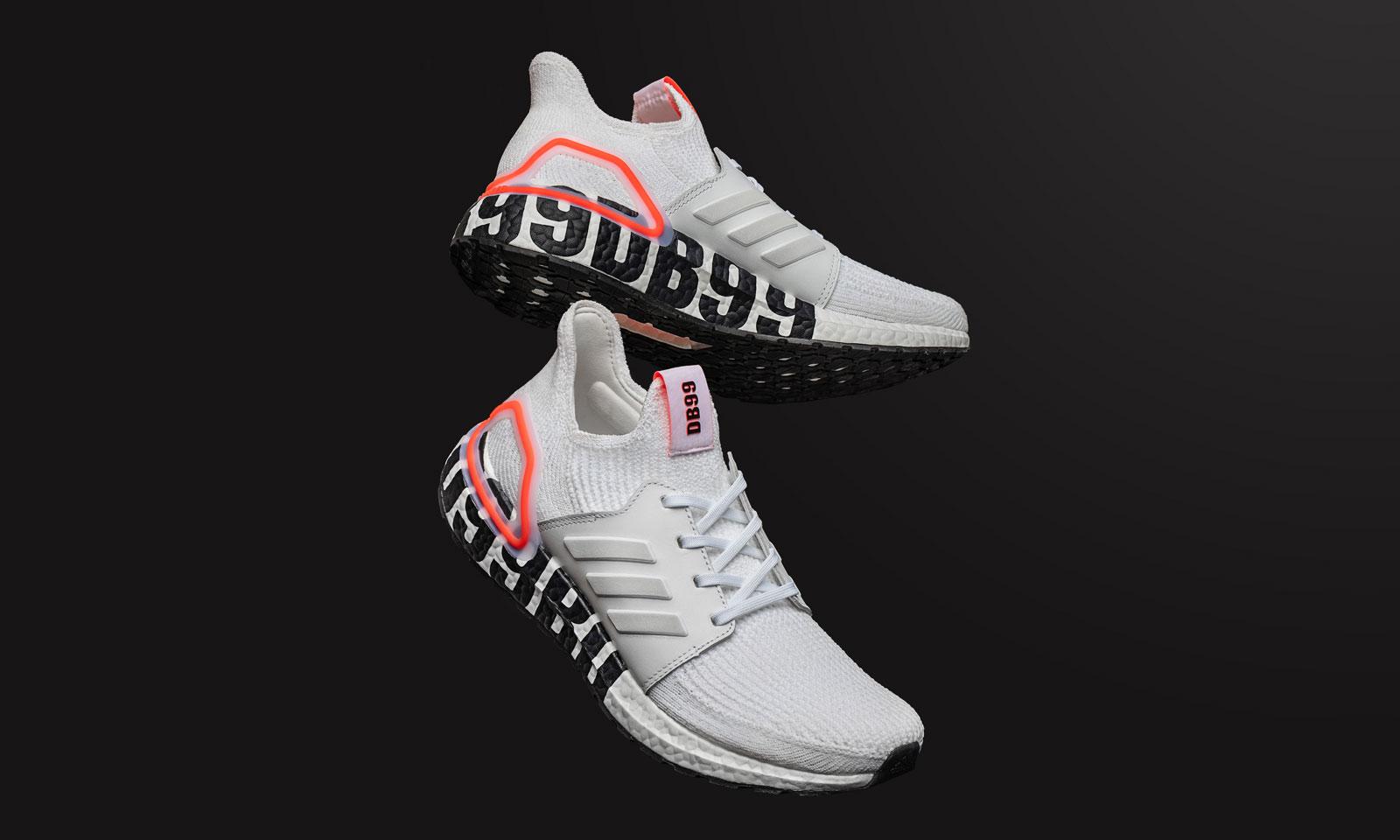 致敬传奇,adidas 携手贝克汉姆发布 UltraBOOST 19 DB99 跑鞋
