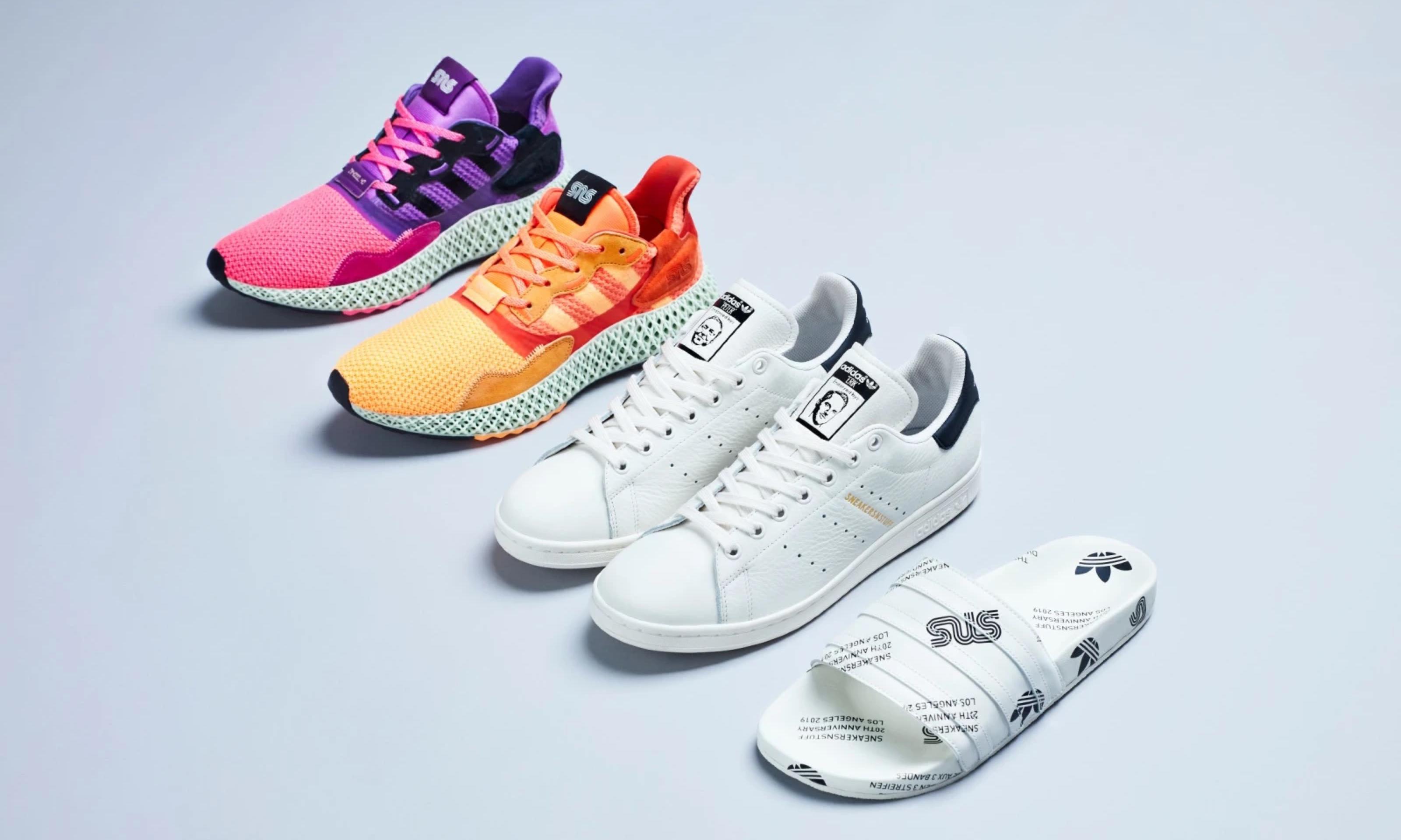 20 周年献礼,Sneakersnstuff x adidas Consortium 联名系列释出