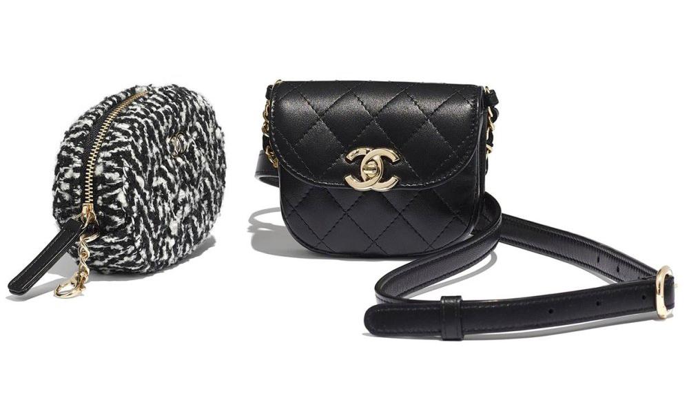 多种背法,Chanel 推出新款零钱腰包