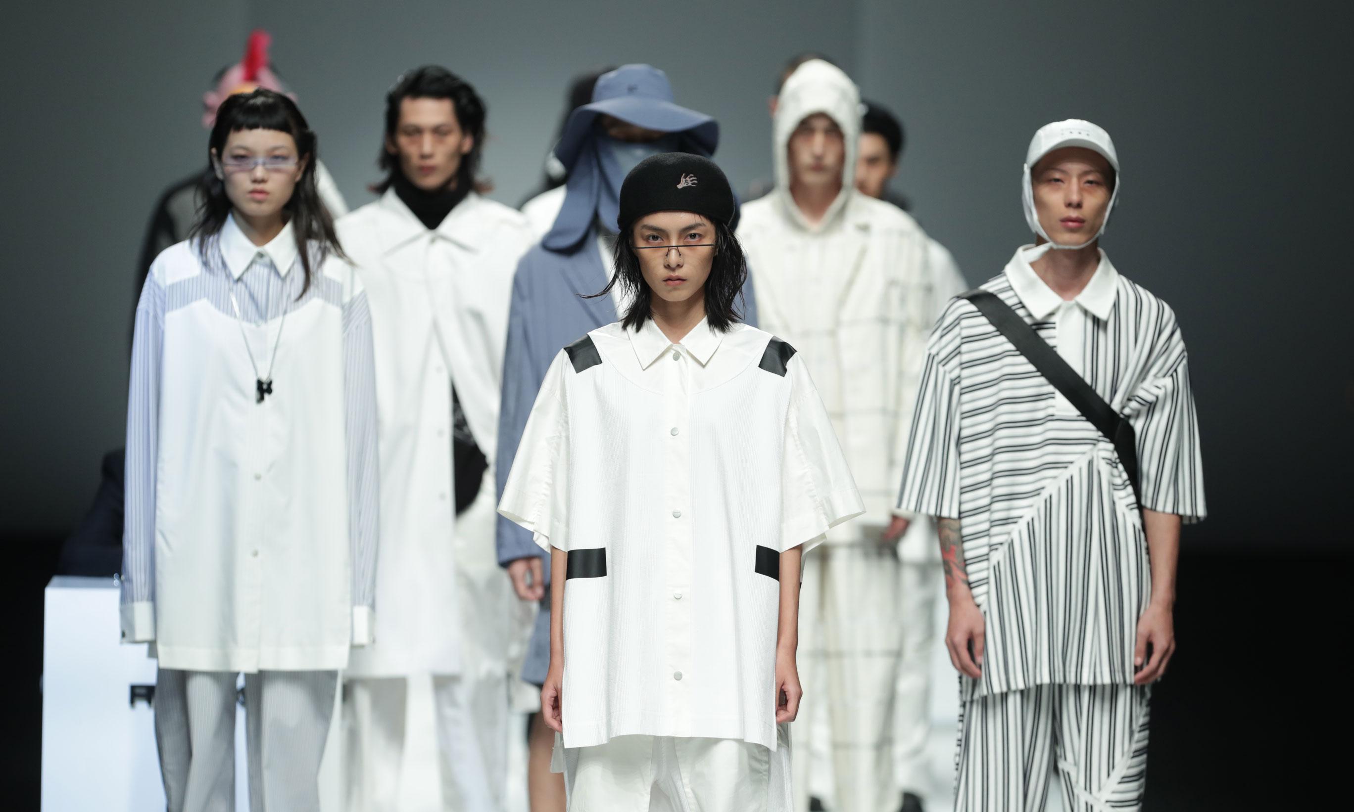 上海时装周,三个国潮用时装秀发出了自己的声音