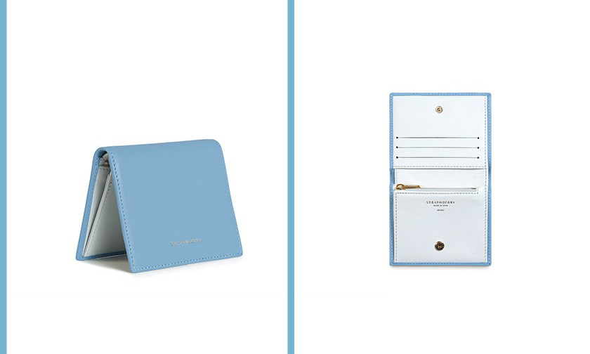 苏格兰品牌 Strathberry 推出新款 9 色极简设计钱包