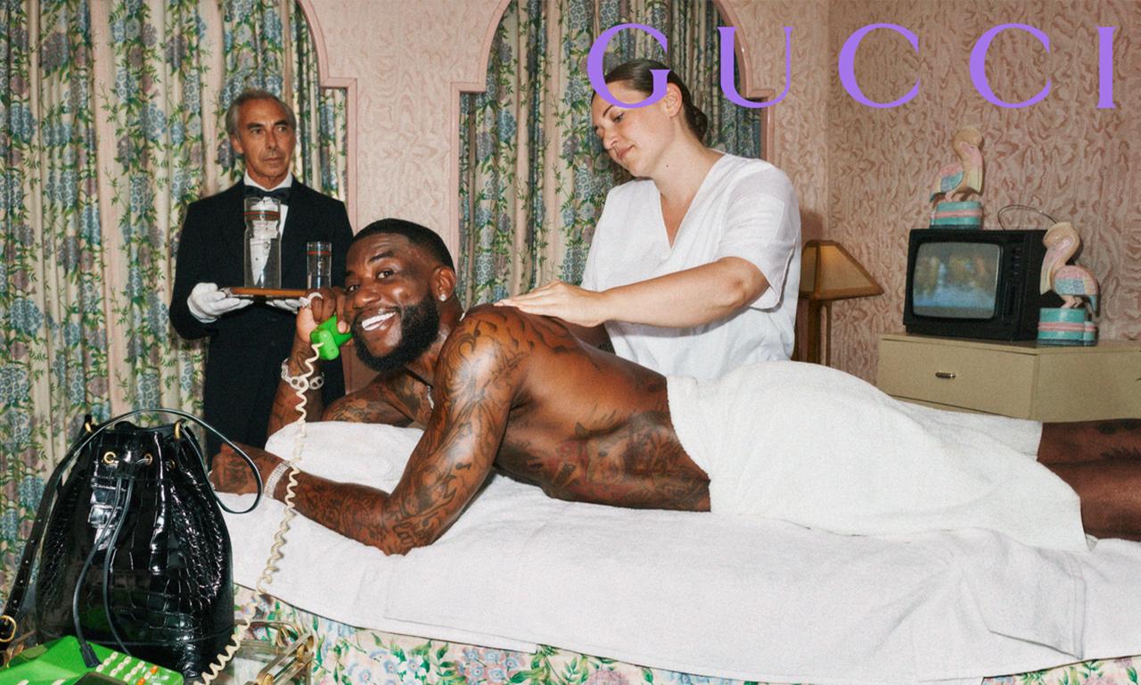 传奇说唱歌手 Gucci Mane 和 Gucci 推出合作系列