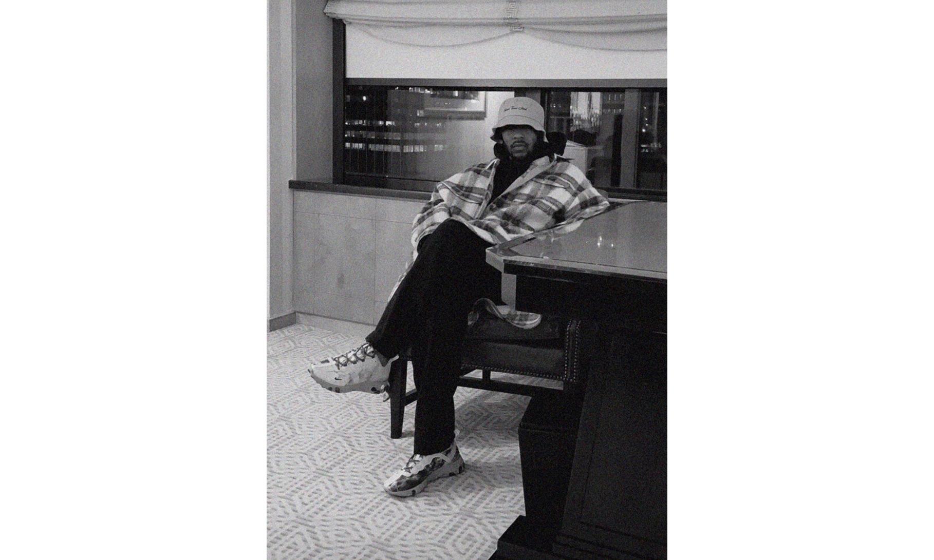 Kendrick Lamar 曝光与 Nike 联名 React Element 55 鞋款