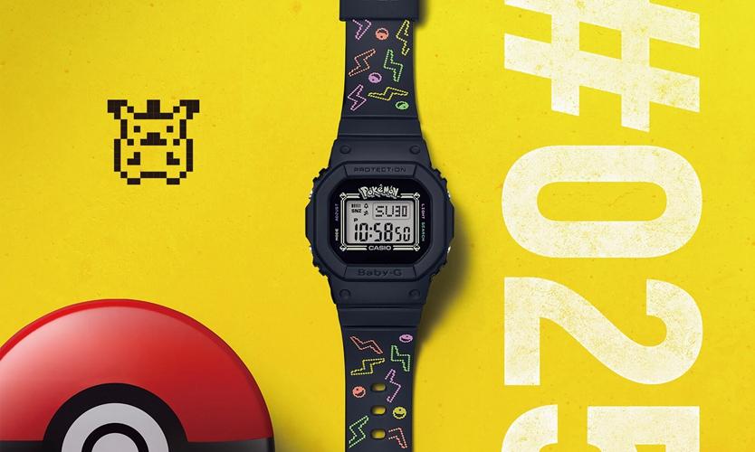 G-SHOCK 推出 Pokémon 别注版本 BABY-G 25 周年纪念腕表