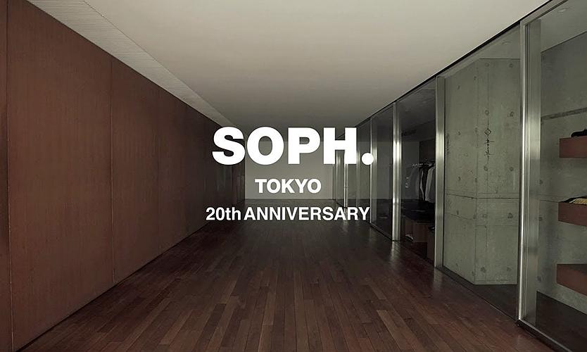 SOPHNET. 为东京门店 20 周年店庆发布首支预告片