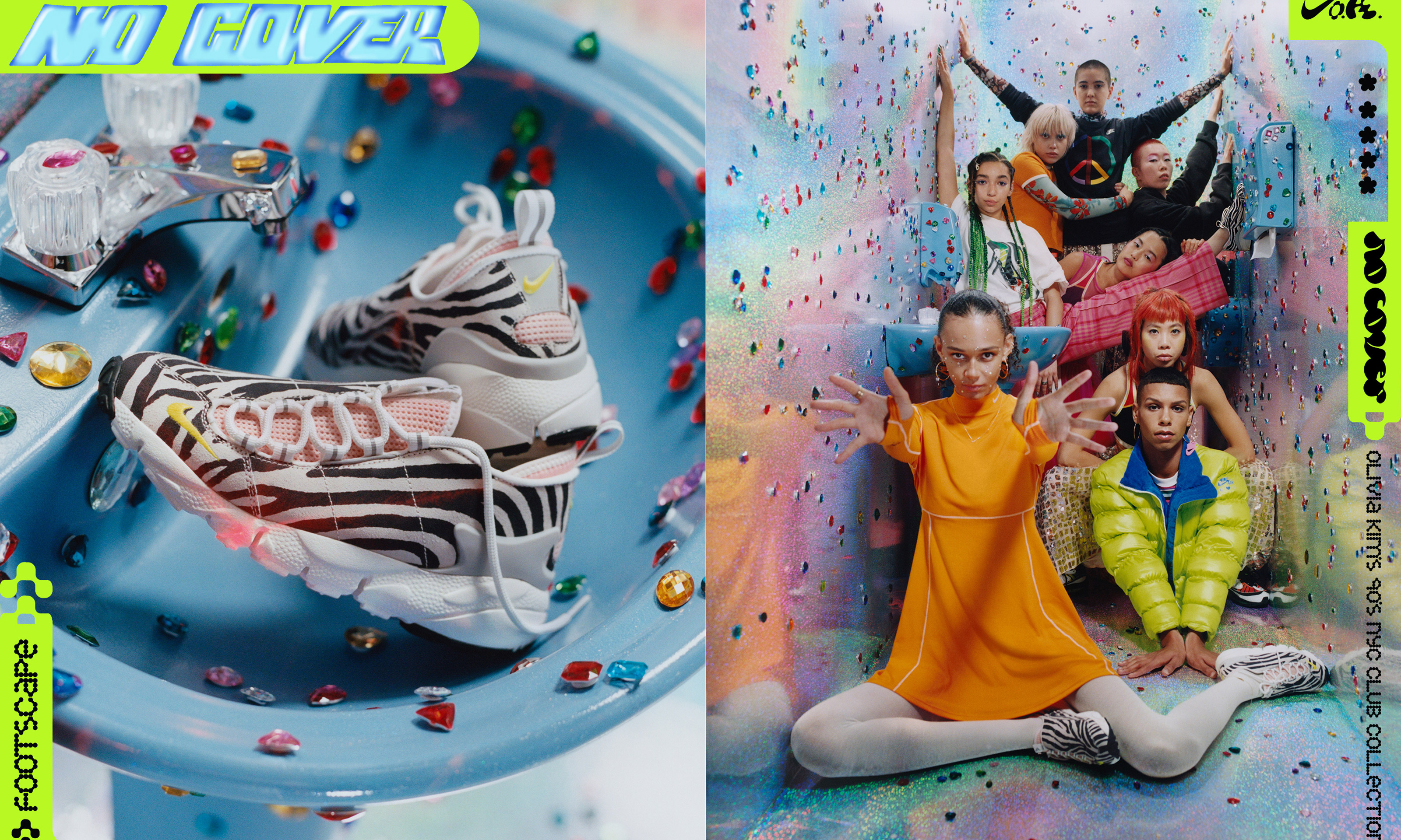 重现 90s 纽约街头,Olivia Kim x Nike「No Cover」特辑释出