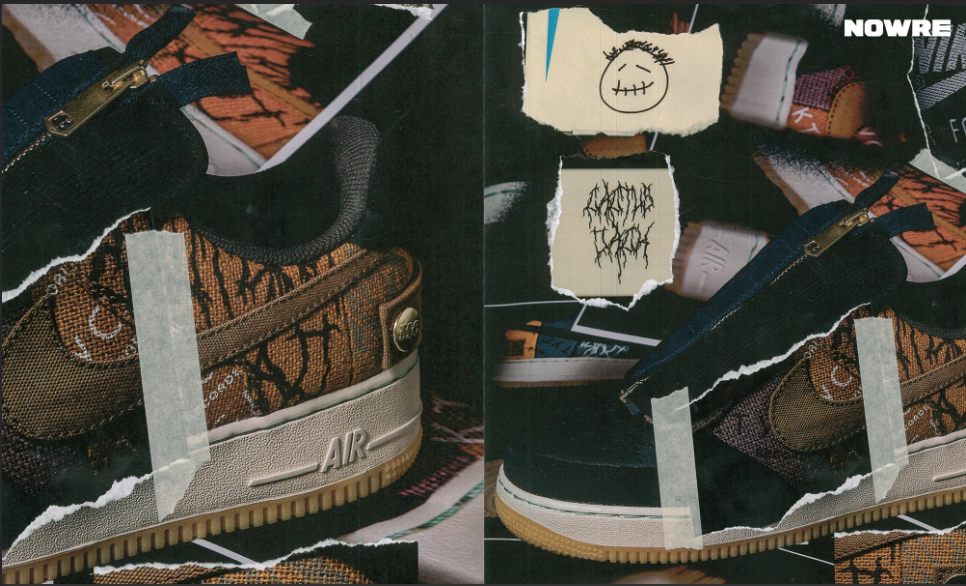 NOWRE 独家近赏 Travis Scott x Nike Air Force 1「Cactus Jack」