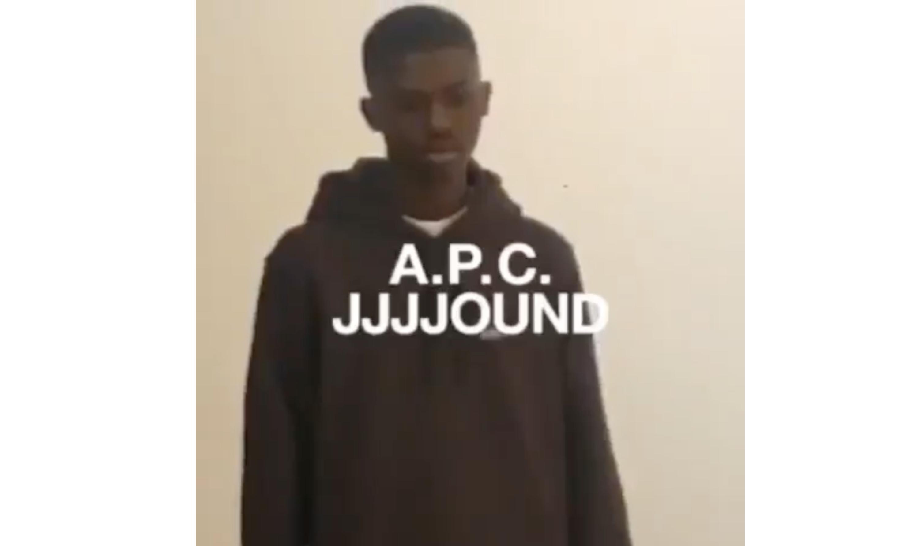 JJJJound x A.P.C. 联名系列预告片释出