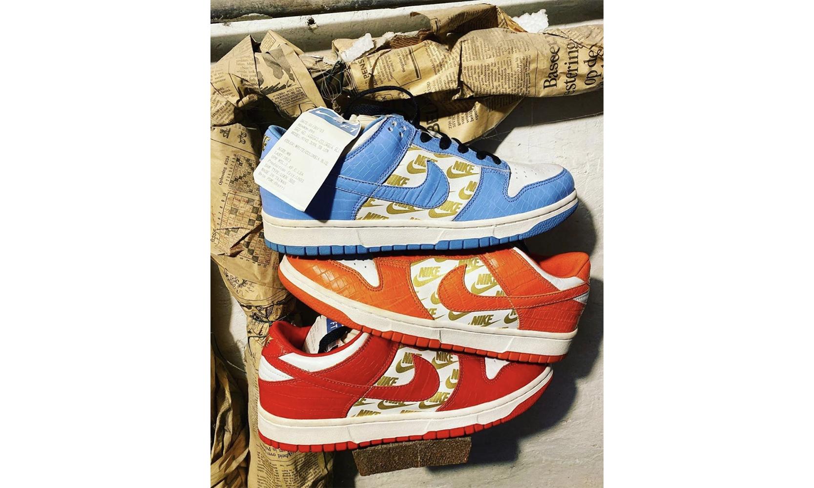 这款 Supreme x Nike SB Dunk 的 Sample 版本你见过吗?