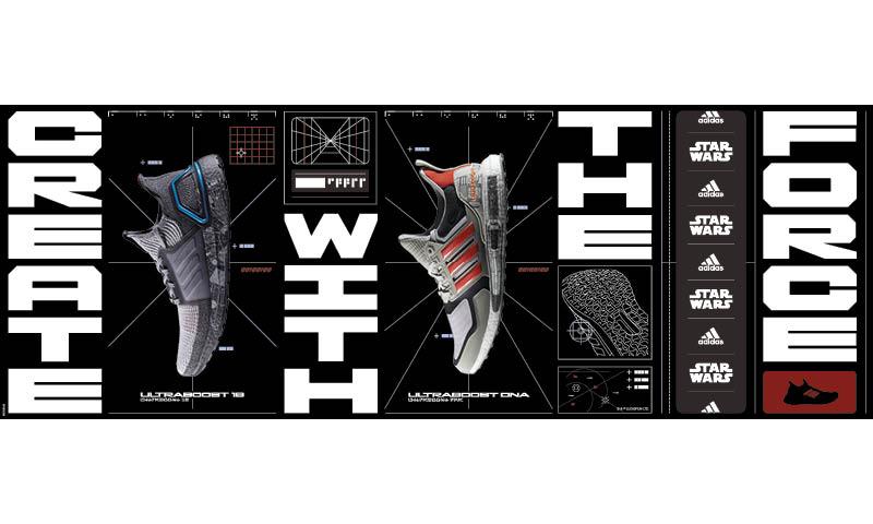 「原力」与你同在,adidas UltraBOOST 星球大战主题系列跑鞋登场