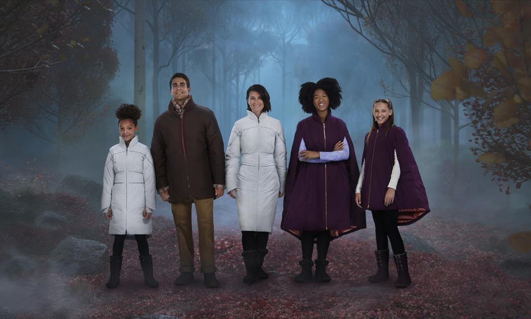 Columbia 携手迪士尼推出《冰雪奇缘 2》联名服饰系列