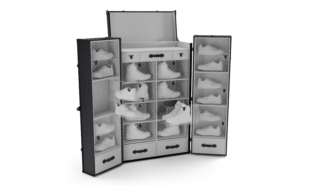 实力藏家准备好,Louis Vuitton 球鞋收纳旅行箱来了