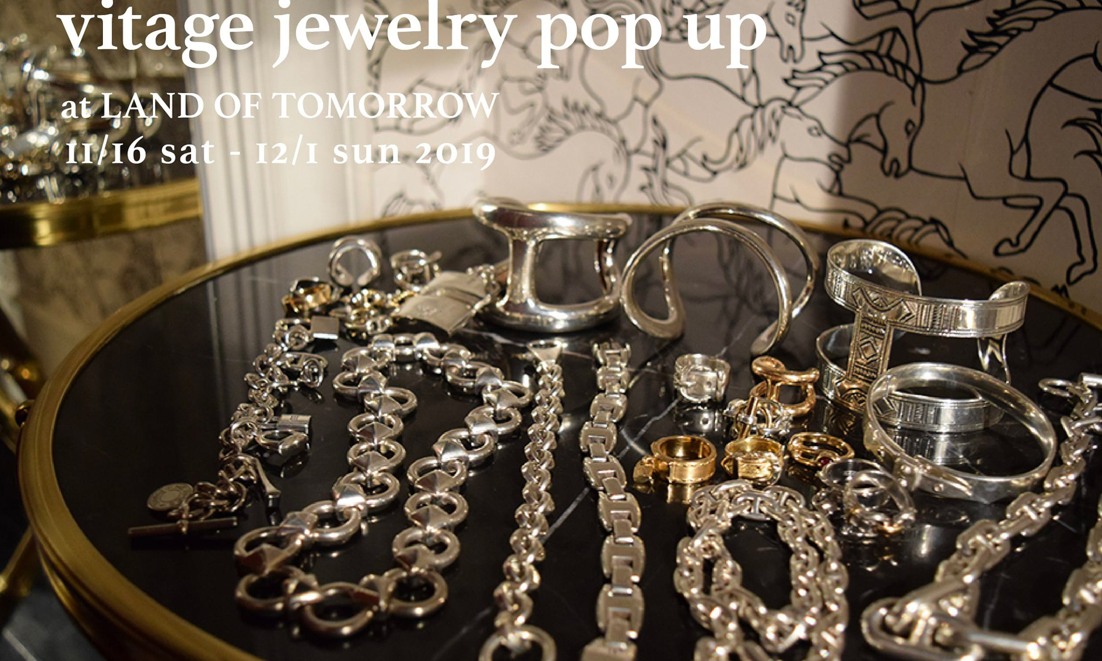 精品选货店 LAND OF TOMORROW 将举办 HERMÈS 古董珠宝 Pop-Up