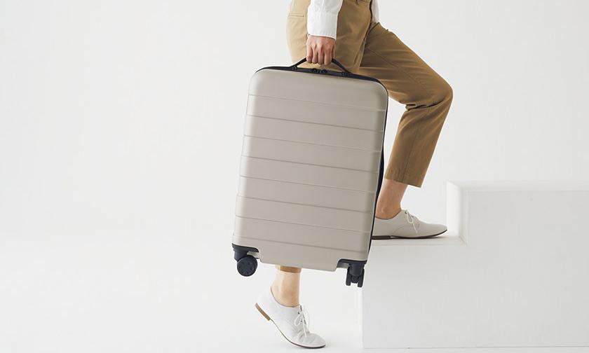 提高容量降低重量,一年售出两万个的 MUJI 旅行箱推出改良版本