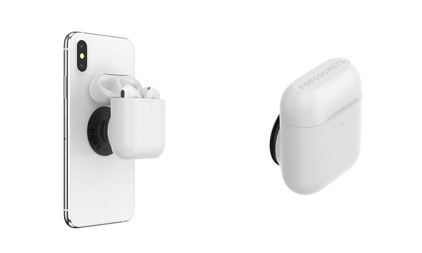 PopSockets 推出可同时携带 AirPods 的多功能手机支架