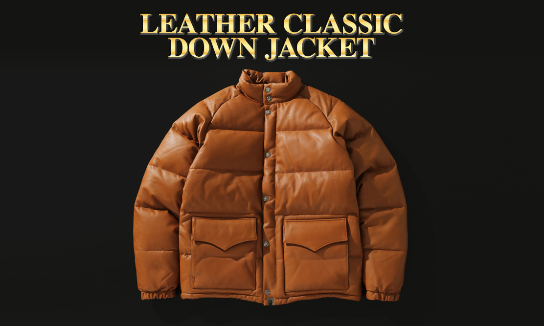 BAPE® 复刻发售经典 Leather Classic Down Jacket