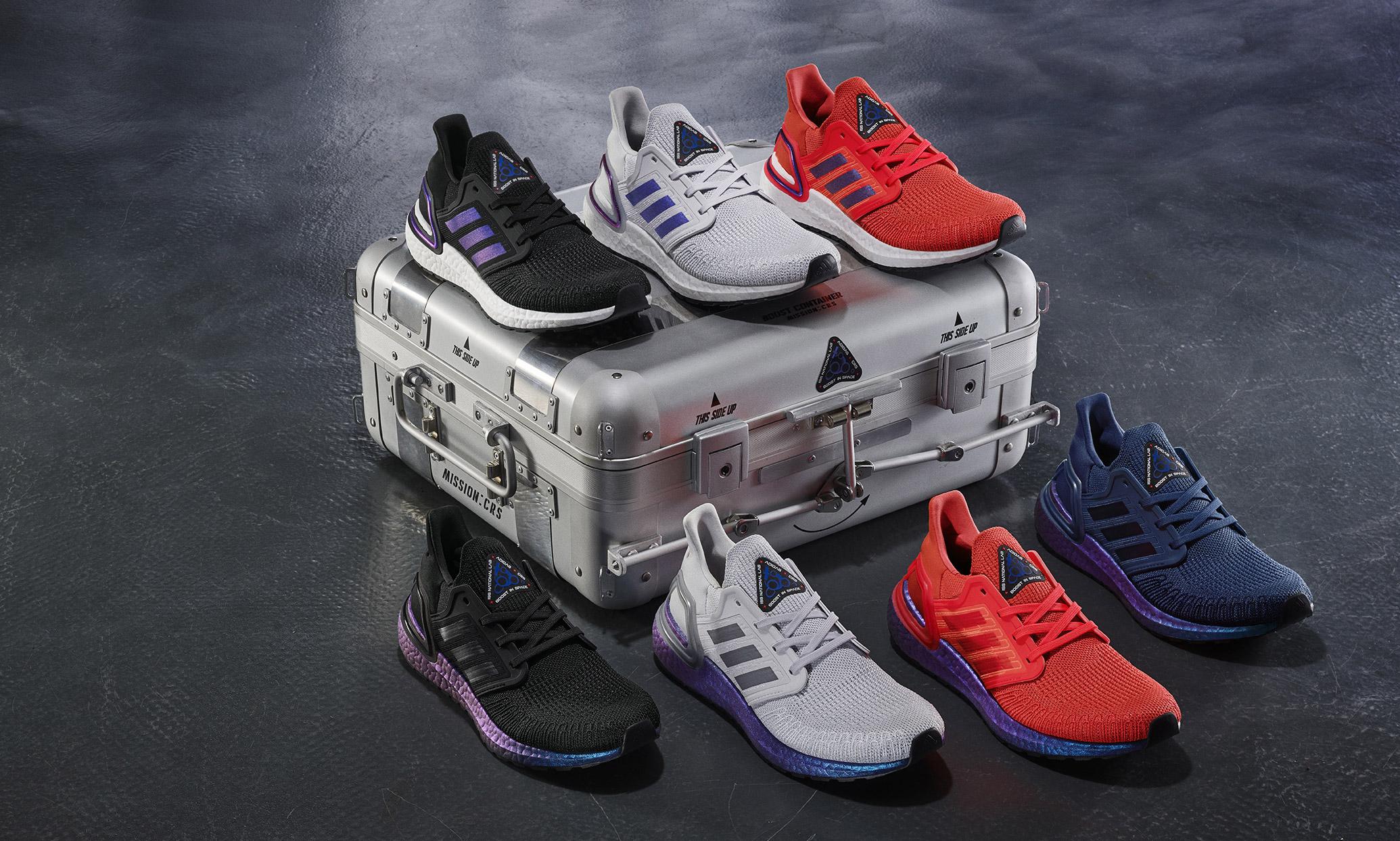 助力跑者迸发太空,adidas UltraBOOST 20 限定跑鞋正式发布