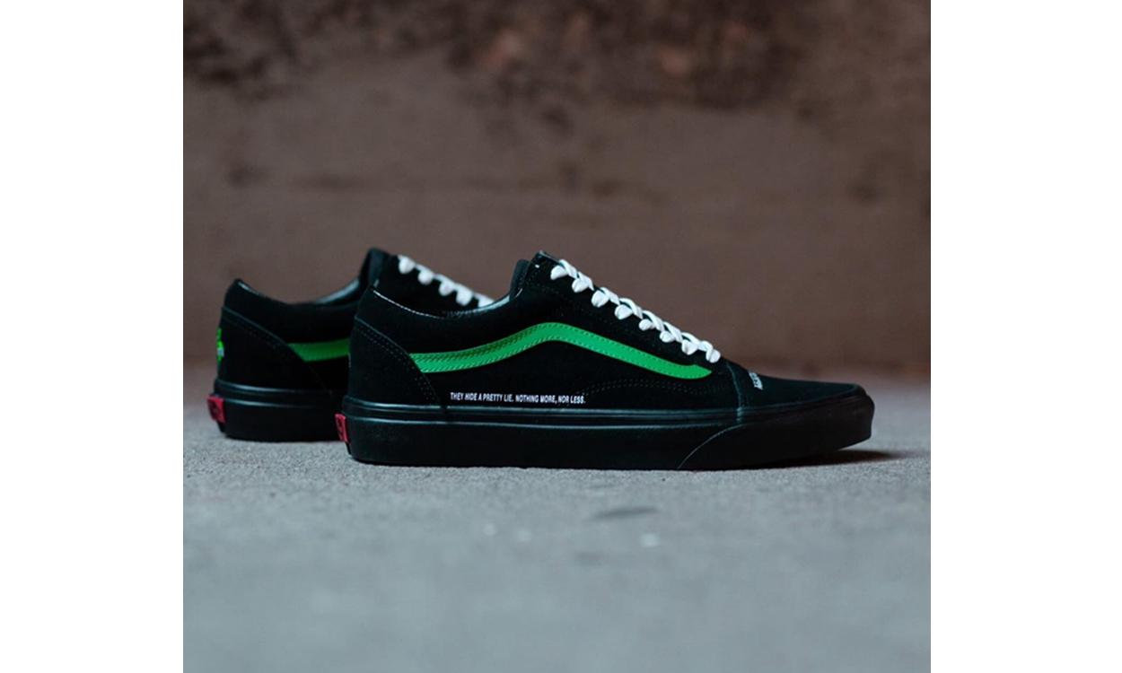 Coutié x Vans 全新「Nightmare Society」系列联乘鞋款正式登场