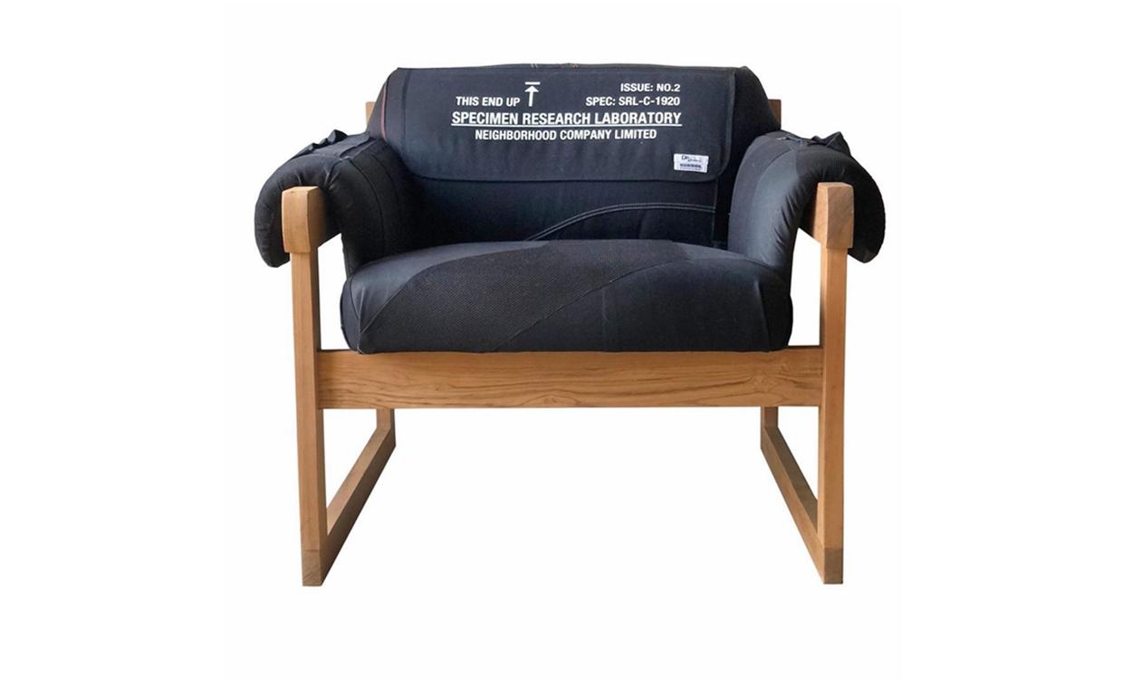 DRx Romanelli 带来「重制版」NEIGHBORHOOD 扶手椅