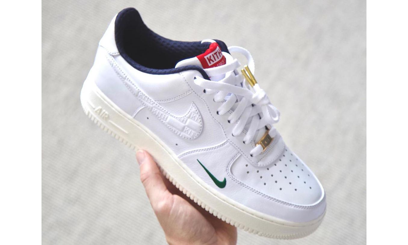 Ronnie Fieg 亲晒 KITH x Nike 联名 Air Force 1