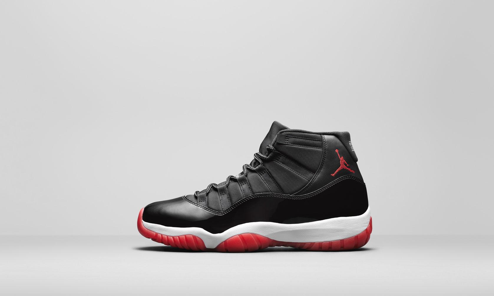 年度重磅鞋款,黑红 Air Jordan XI 经典重现