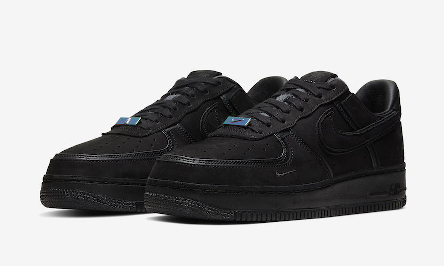A Ma Maniére x Nike Air Force 1 限定黑色将会限量 989 双