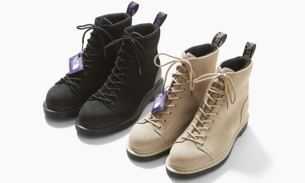 THE NORTH FACE PURPLE LABEL x Dr.Martens 带来全新九孔靴设计