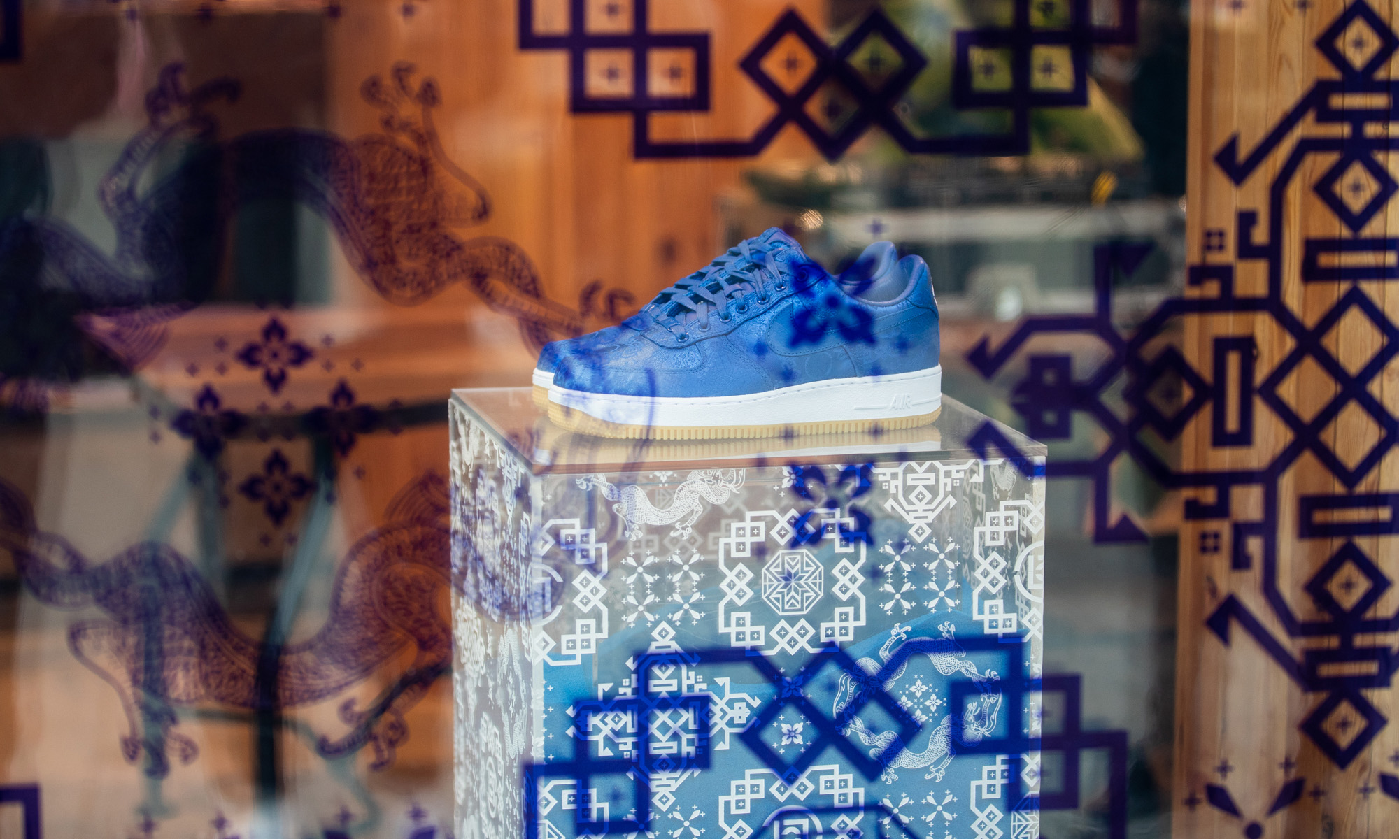 CLOT x Nike  Air Force 1「蓝丝绸」JUICE 北京发售活动回顾