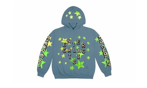 Cactus Plant Flea Market 为 Kid Cudi 打造专属「Entergalactic」卫衣设计